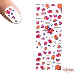 Слайдер-дизайн DS 455 Графические цветы