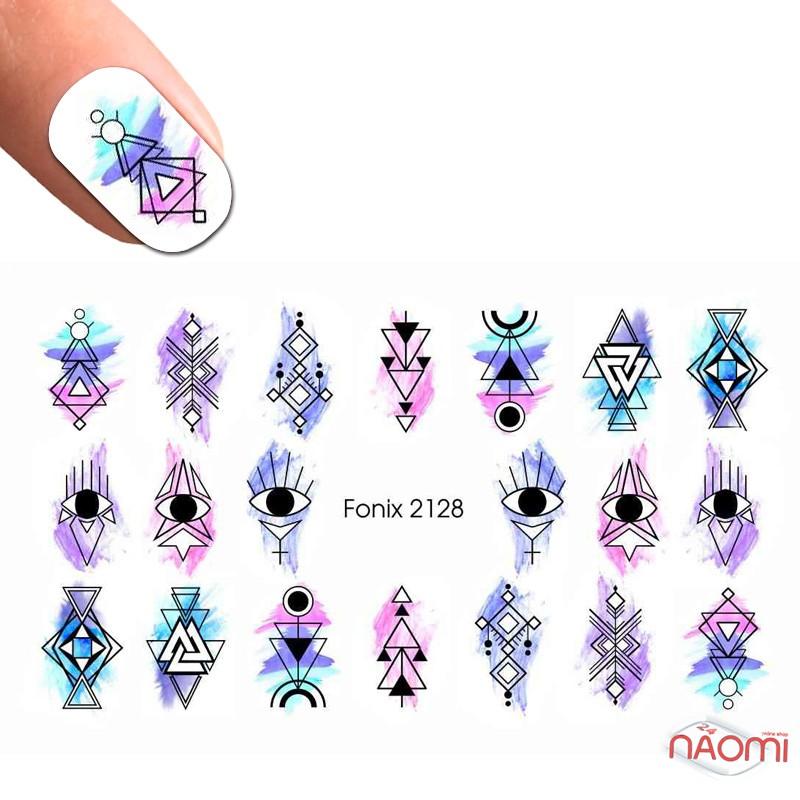 Слайдер-дизайн Fonix 2128 Геометрия, фото 1, 20.00 грн.