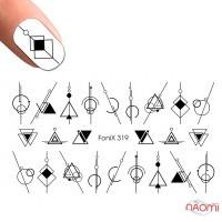 Слайдер-дизайн Fonix 319 Геометрия
