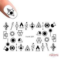 Слайдер-дизайн Fonix 329 Геометрия