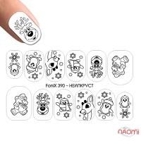 Слайдер-дизайн Fonix 390 Геометрия Новый год