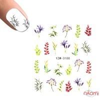 Слайдер-дизайн YZW-3100 Ветки, листья