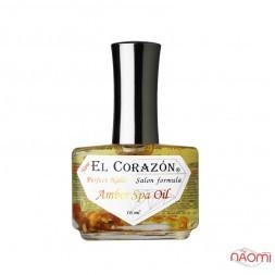 СПА-Сыворотка для ногтей EL Corazon Amber Spa Oil с янтарем и лечебными маслами, № 437, 16 мл