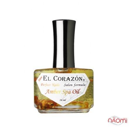СПА-Сыворотка для ногтей EL Corazon Amber Spa Oil с янтарем и лечебными маслами, № 437, 16 мл, фото 1, 80.00 грн.