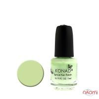 Специальный лак для стемпинга KONAD 5 мл - Pastel Green / Пастельно-зеленый S08