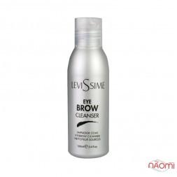 Засіб для очищення шкіри та волосків брів Levissime Eyebrow Cleancer, 100 мл