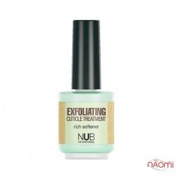 Средство для размягчения кутикулы NUB Exfoliating Cuticle Treatment, 15 мл