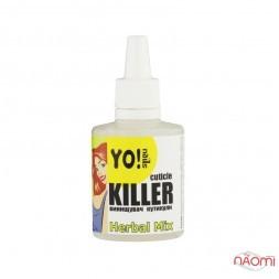 Засіб для видалення кутикули Yo! Nails Cuticle Killer Herbal Mix, 30 мл