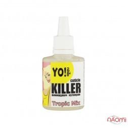 Средство для удаления кутикулы Yo Nails Cuticle Killer Tropic Mix, 30 мл