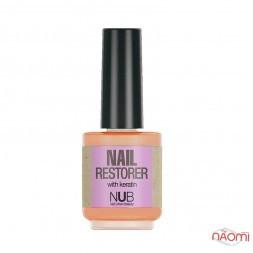 Средство для восстановления ногтей с кератином NUB Nail Restorer, 15 мл