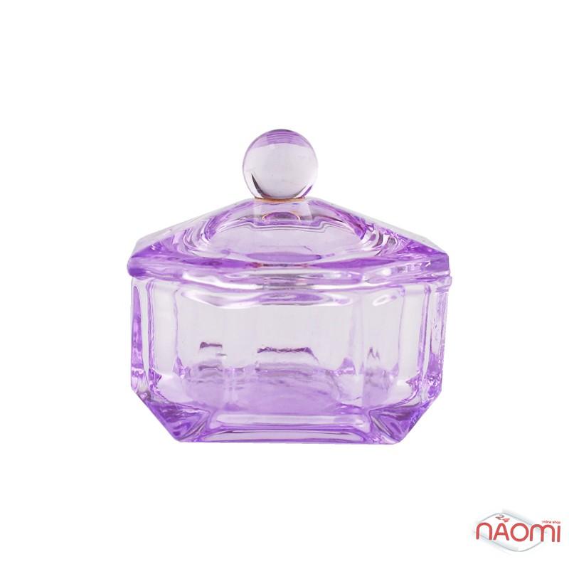 Стаканчик для мономера з кришкою, скляний, колір в асортименті, фото 4, 50.00 грн.