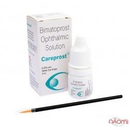 Стимулятор для роста ресниц Карепрост (Careprost) 3 мл.