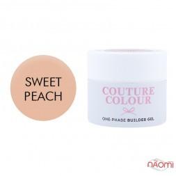 Гель однофазный Couture Colour 1-phase Builder Gel Sweet peach, персиковый, 15 мл