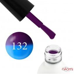 Термо гель-лак Koto 132 фиолетовый, при нагревании переходит в голубой, 5 мл