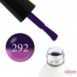 Термо гель-лак Koto 292 фиолетовый, при нагревании переходит в пурпурно-розовый, 5 мл