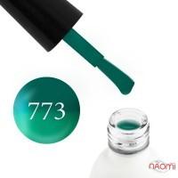 Термо гель-лак Koto 773  зелений з переходом в світло-зелений, 5 мл