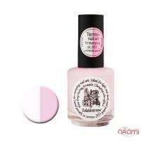 Термокраска для стемпинга EL Corazon - Kaleidoscope № st-203, тепло - белый, холод - розовый
