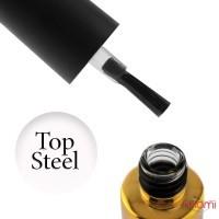 Топ для гель-лаку без липкого шару F.O.X Steel Top, 12 мл
