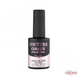 Топ для гель-лака без липкого слоя Couture Colour Gloss Top Coat, 9 мл