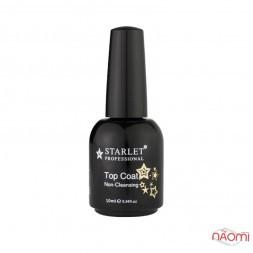 Топ для гель-лаку без липкого шару Starlet Professional Non-Cleansing, 10 мл
