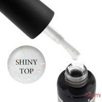 Топ для гель-лака без липкого слоя Oxxi Professional Shiny Top с шиммером, 10 мл