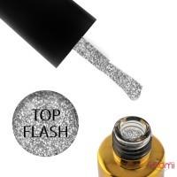 Топ для гель-лаку без липкого шару F.O.X Top Flash світловідбиваючий, 6 мл