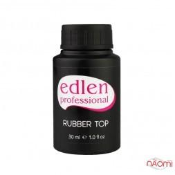 Топ каучуковий для гель-лаку Edlen Professional Rubber Top, 30 мл