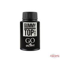 Топ каучуковый для гель-лака GO Active Gummy Top Coat, 30 мл