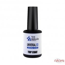 Топ універсальний Nails Molekula Universal EO Top Coat, 12 мл