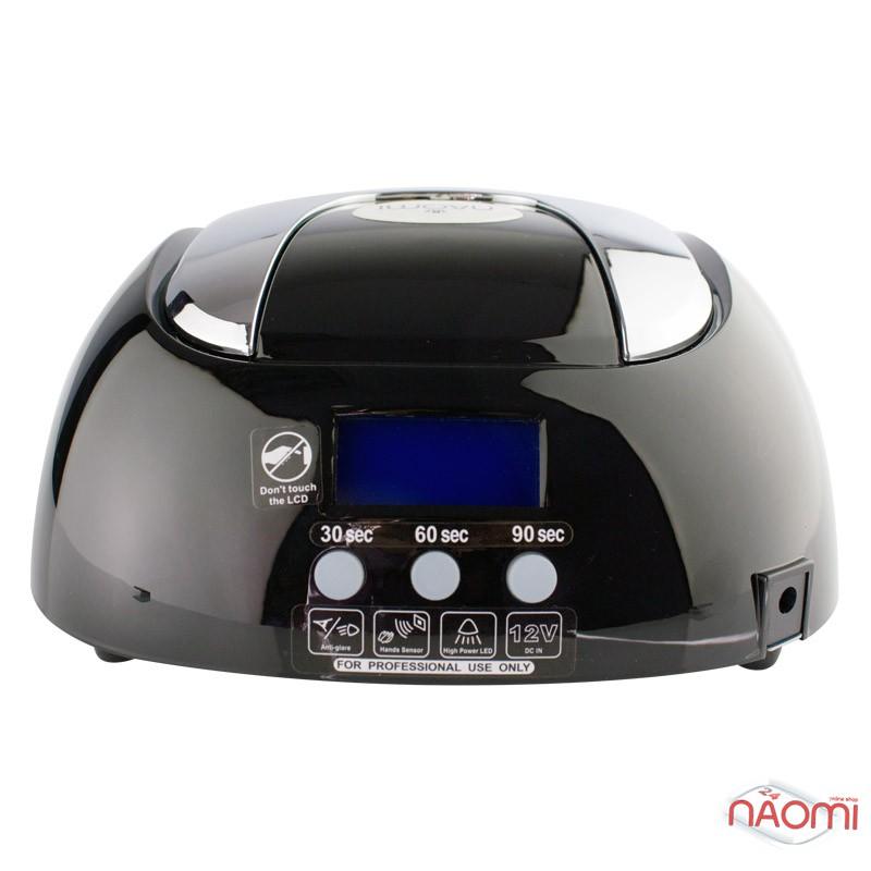УФ LED+CCFL лампа для гель-лаков и геля Naomi HL-169 48W с таймером на 30, 60, 90 сек, цвет черный, фото 2, 2 500.00 грн.