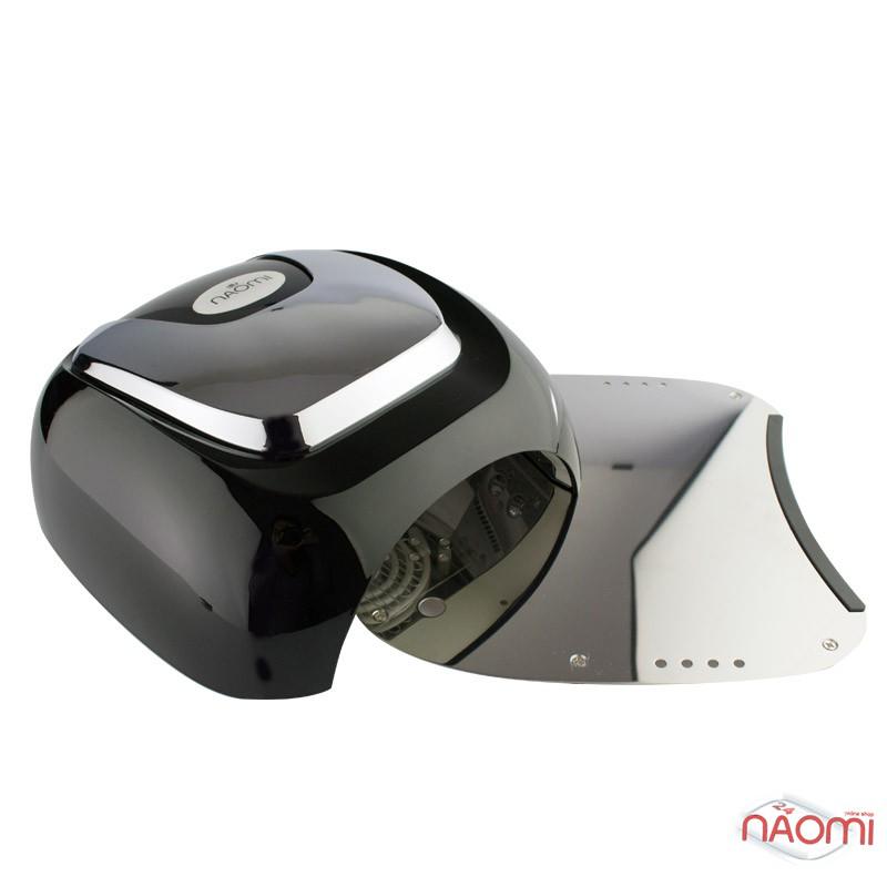 УФ LED+CCFL лампа для гель-лаков и геля Naomi HL-169 48W с таймером на 30, 60, 90 сек, цвет черный, фото 4, 2 500.00 грн.