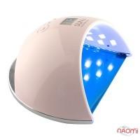 УФ LED-лампа Global Fashion SUN 6, 48 Вт, таймер 30,60,99 сек, цвет розовый