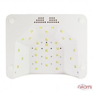 УФ LED лампа світлодіодна Star One 48 Вт і 24 Вт, таймер 5, 30 і 60 с, колір персиковий