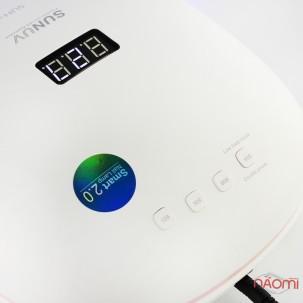 УФ LED лампа світлодіодна Sun 4s, 48 Вт, таймер 10, 30, 60 і 99 сек, колір білий