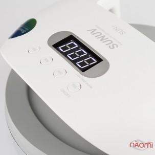 УФ LED лампа світлодіодна Sun 7 48 Вт, таймер 10, 30, 60 і 99 с, колір білий