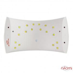 УФ LED лампа светодиодная Sun 9 Х Plus 36 Вт, таймер сек, с дисплеем, цвет белый