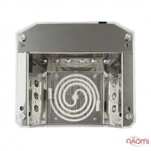 УФ LED+CCFL лампа для гель-лаков и геля 36W, сенсорная, с таймером 10, 30 и 60 сек., цвет золото