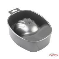Ванночка для маникюра, цвет серебро