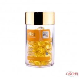 Витамины для волос Ellips Smooth Shiny Роскошное сияние с маслом алое вера, 50 х 1 мл