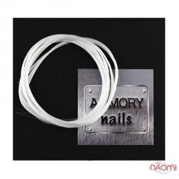 Файбер - скловолокно ARMORY nails для ремонту і нарощування нігтів, 1 м