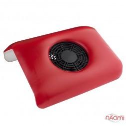 Вытяжка для маникюра Absorb Dust Machine 26,5х10х29 см, цвет красный