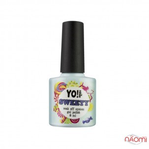 Гель-лак Yo nails Sweety № 19 серый, 8 мл