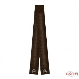 Заколка для создания пучков Invisibobble Clicky Bun Pretzel Brown, для темных волос, цвет коричневый