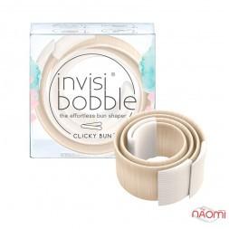 Заколка для создания пучков Invisibobble Clicky Bun To Be or Nude to для светлых волос, цвет бежевый