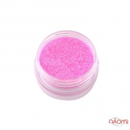 Зеркальная пудра-блеск эффект русалки Naomi 03, цвет розовый, 2 г