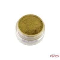 Зеркальная пудра для втирки EL Corazon 001, цвет драгоценное золото, 2 г