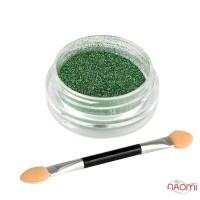 Зеркальная пудра призма-хамелеон Gr-05, цвет зеленый, 0,1 г