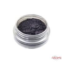 Жемчужный песок для втирки Yre, цвет черный, 1 г