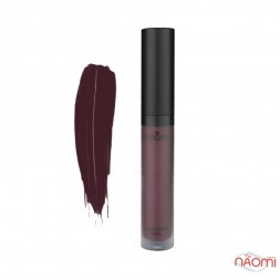 Рідка матова помада для губ Naomi Liquid Lipstick Matte Queen of Darkness, 6 мл