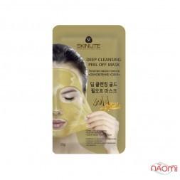 Золотая маска-пленка для лица Skinlite Обновление кожи, 15 г